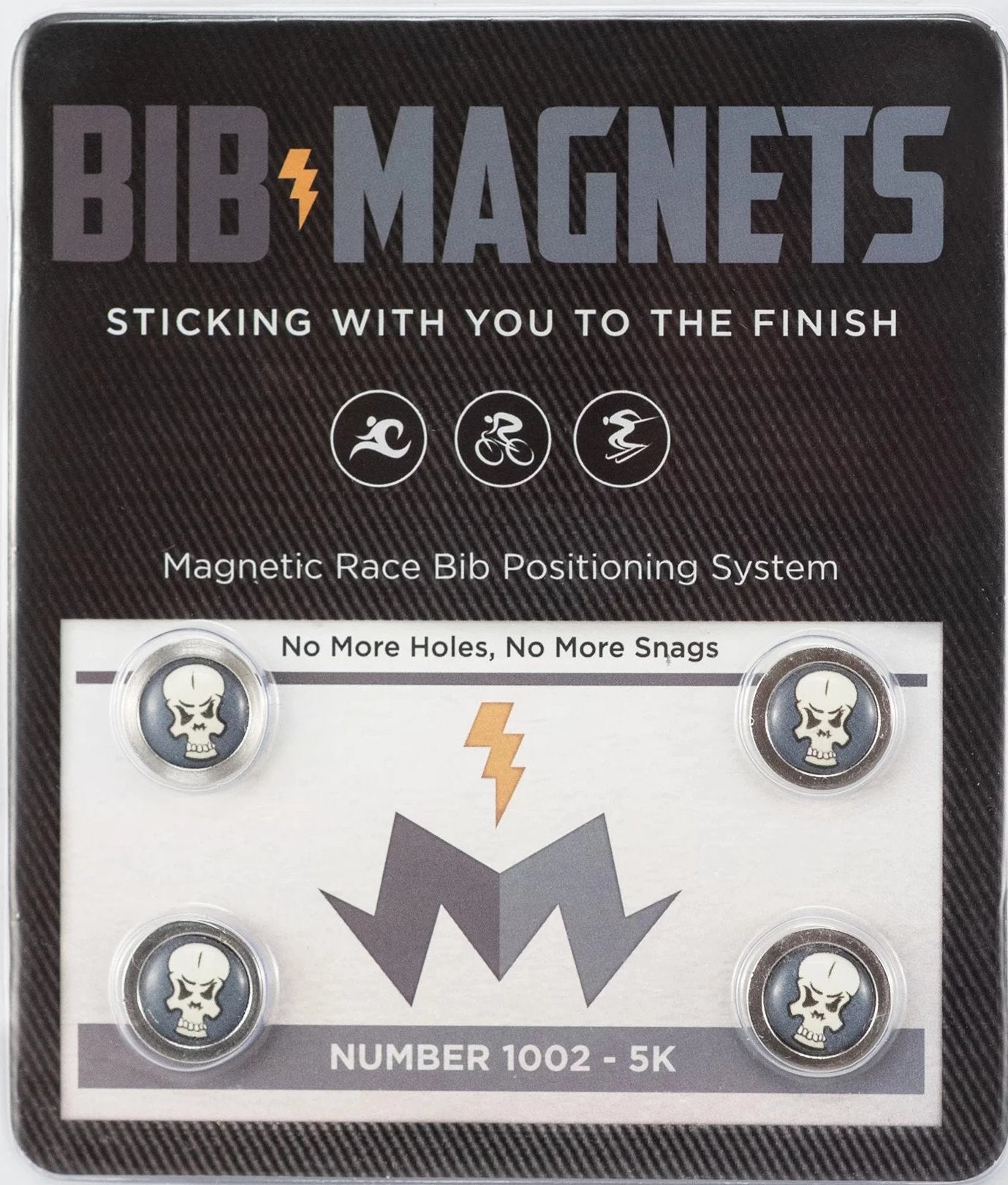 Skully Bib Magnets 4 Pack