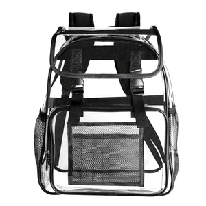 Bertasche Transparent Backpack