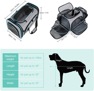 Bertasche Large Travel Pets Carrier Bag
