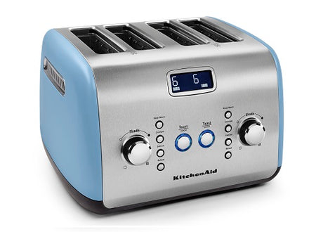 4 Slice Automatic Toaster - Blue Velvet Refurb KMT423