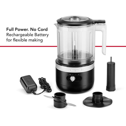 Cordless 5 Cup Food Chopper KFC519