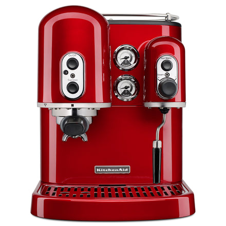 Pro Line® Series Espresso Maker with Dual Independent Boilers - Candy Apple Refurb KES2102A