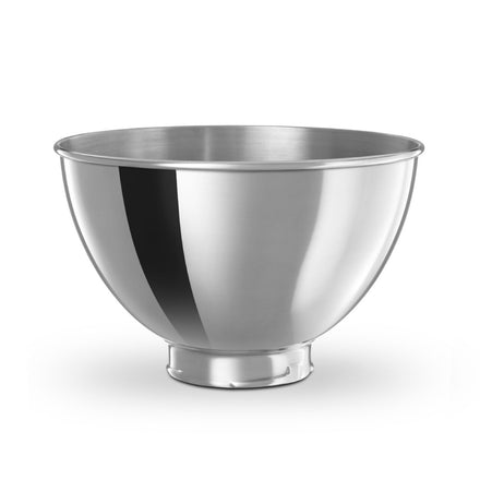2.8L Stainless Steel Bowl for Tilt-Head Stand Mier KB3SS