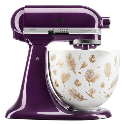 4.7L Pine and Berries Ceramic Bowl for Tilt-Head Stand Mixer KSM2CB5PPB