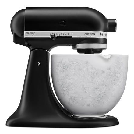 4.7L Whispering Floral Ceramic Bowl for Tilt-Head Stand Mixer KSM2CB5PWF