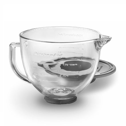 4.7L Glass Bowl for Tilt-Head Stand Mixer KSM5GB