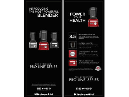 ProLine Blend Tent Card 2Pack