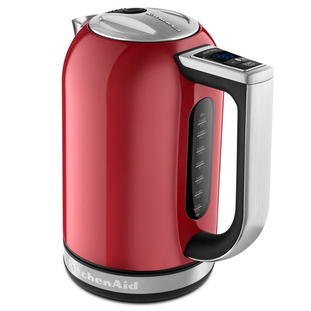 1.7L Electric Kettle with Digital Temperature Control Red Refurb KEK1722