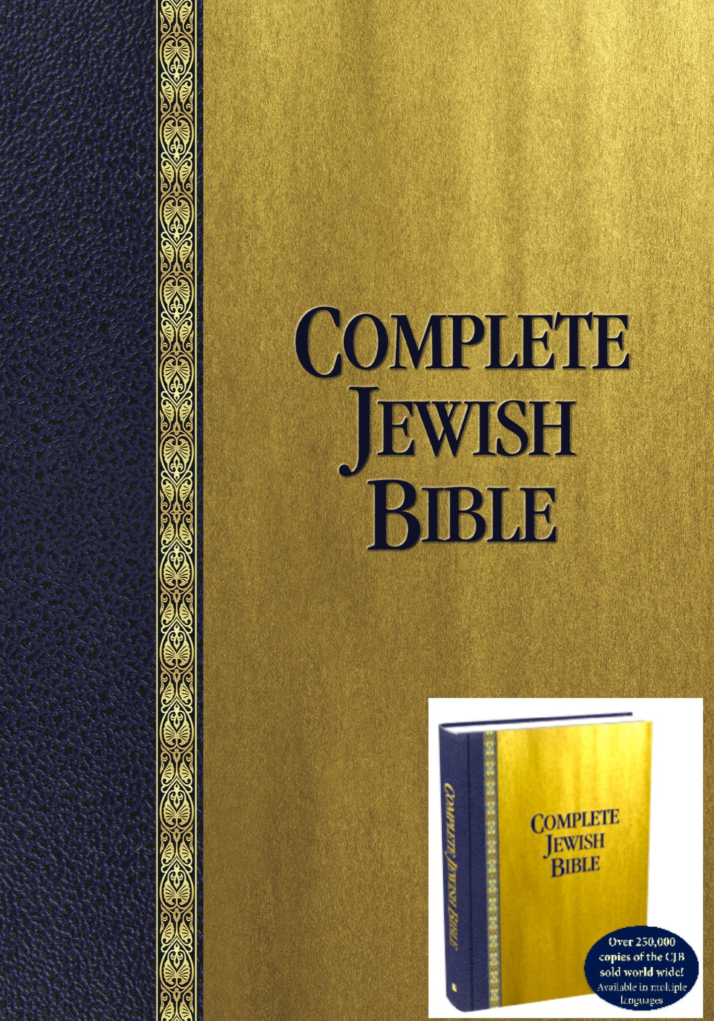 Complete Jewish Bible (Case Lot of 10)