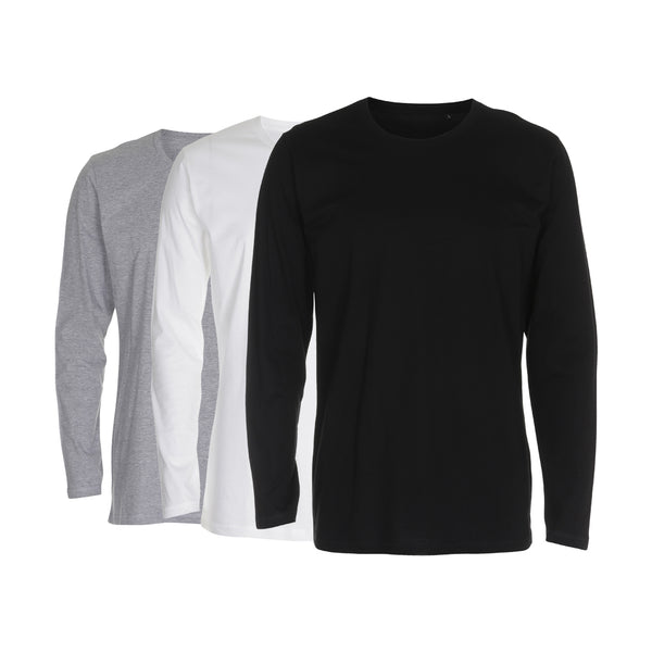T-Shirt - Crew Neck LS