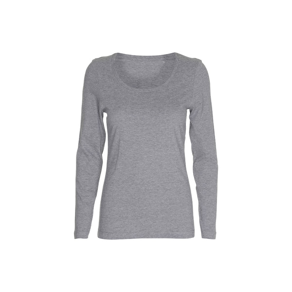 T-Shirt Crew Neck LS Lady
