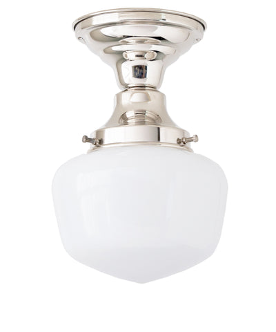 Traditional Schoolhouse Ceiling Fixture, 6""
