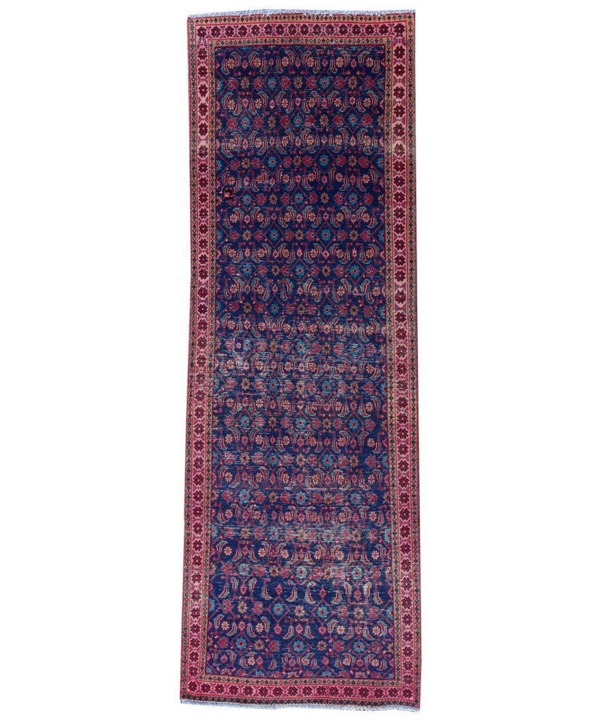 Vintage Turkish Wool Runner, 3