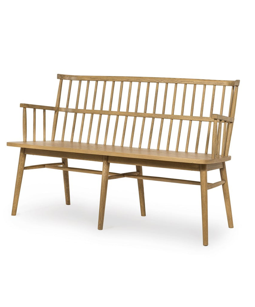 Ainsley Bench, Light Oak