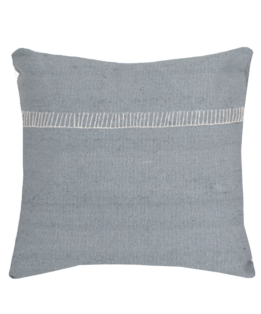 Alyssa Throw Pillow, Ice Gray