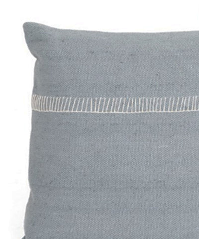 Alyssa Lumbar Pillow, Ice Gray