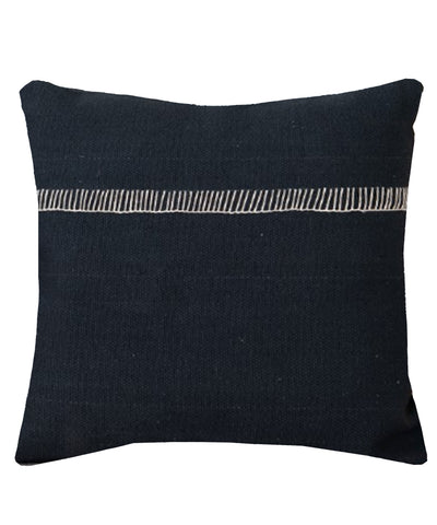Alyssa Throw Pillow, Charcoal