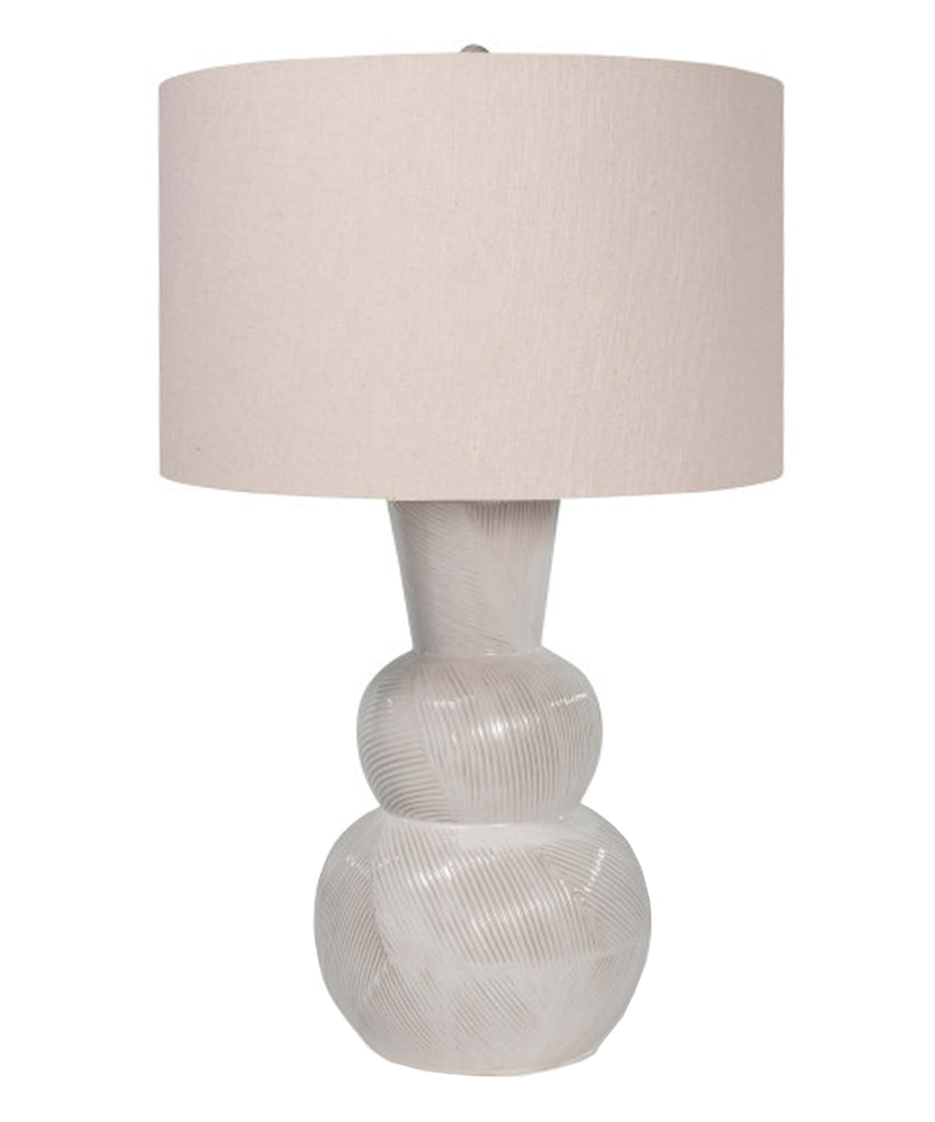 Amelia Table Lamp, Canvas