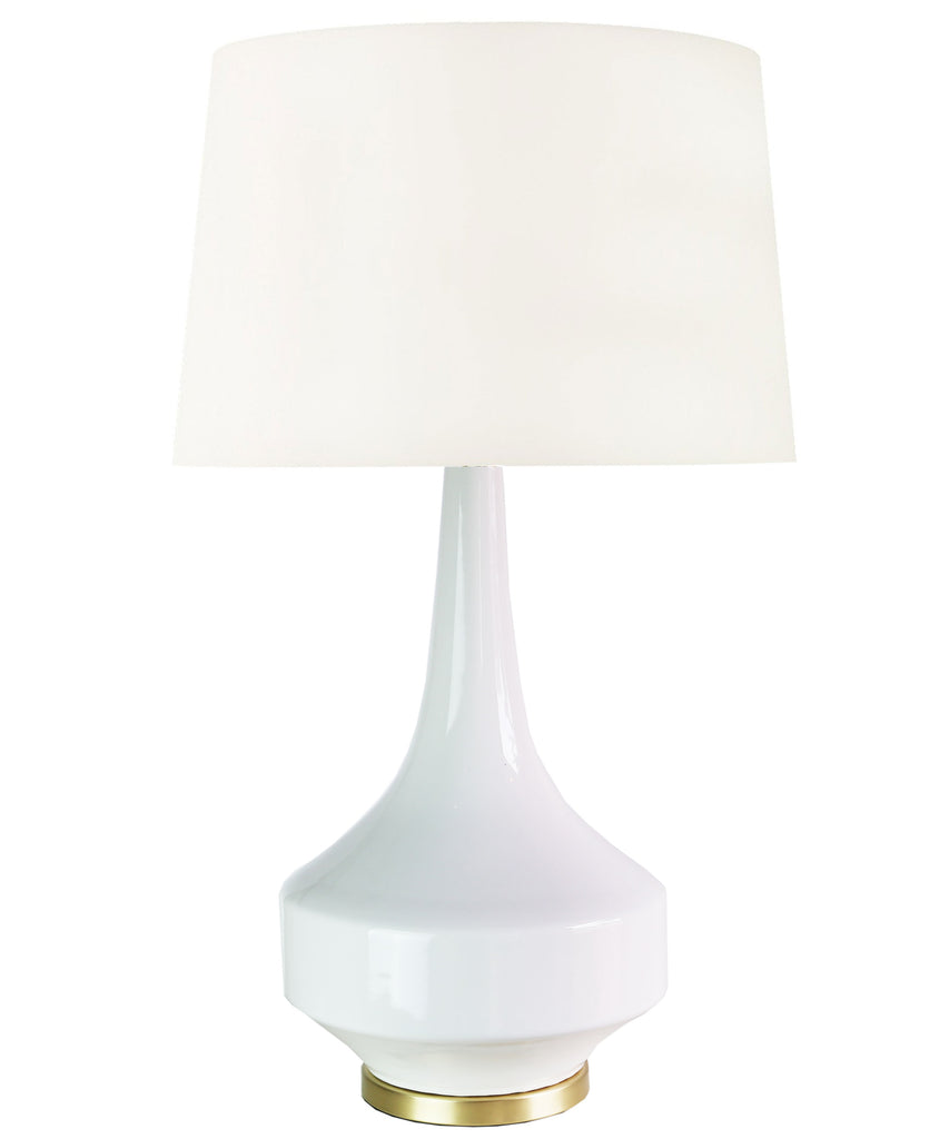 Andrea Table Lamp, White
