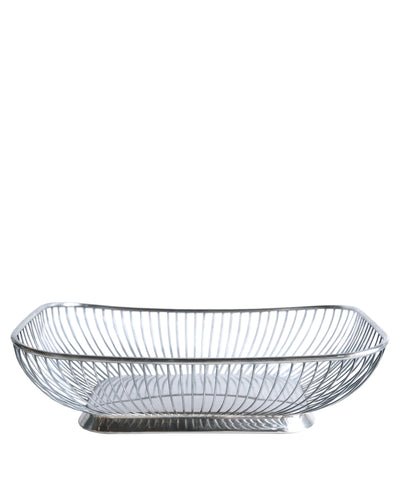 Silver Plated Wire Basket