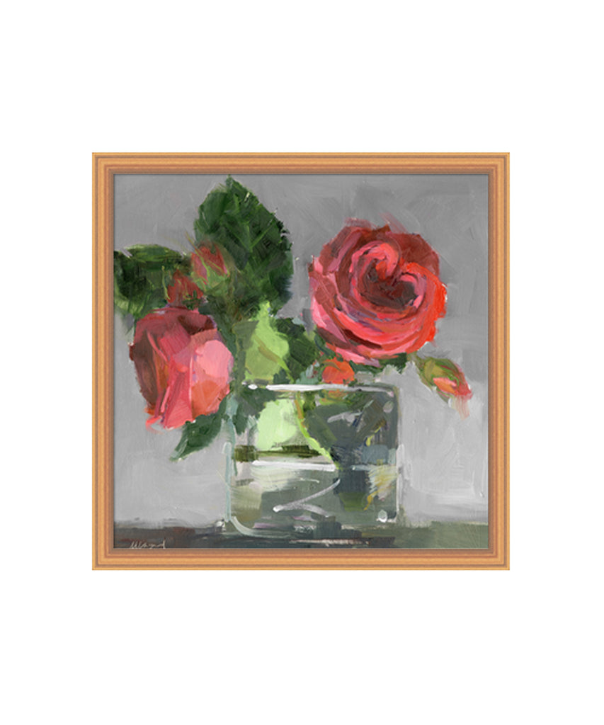 Bright Rose Painting