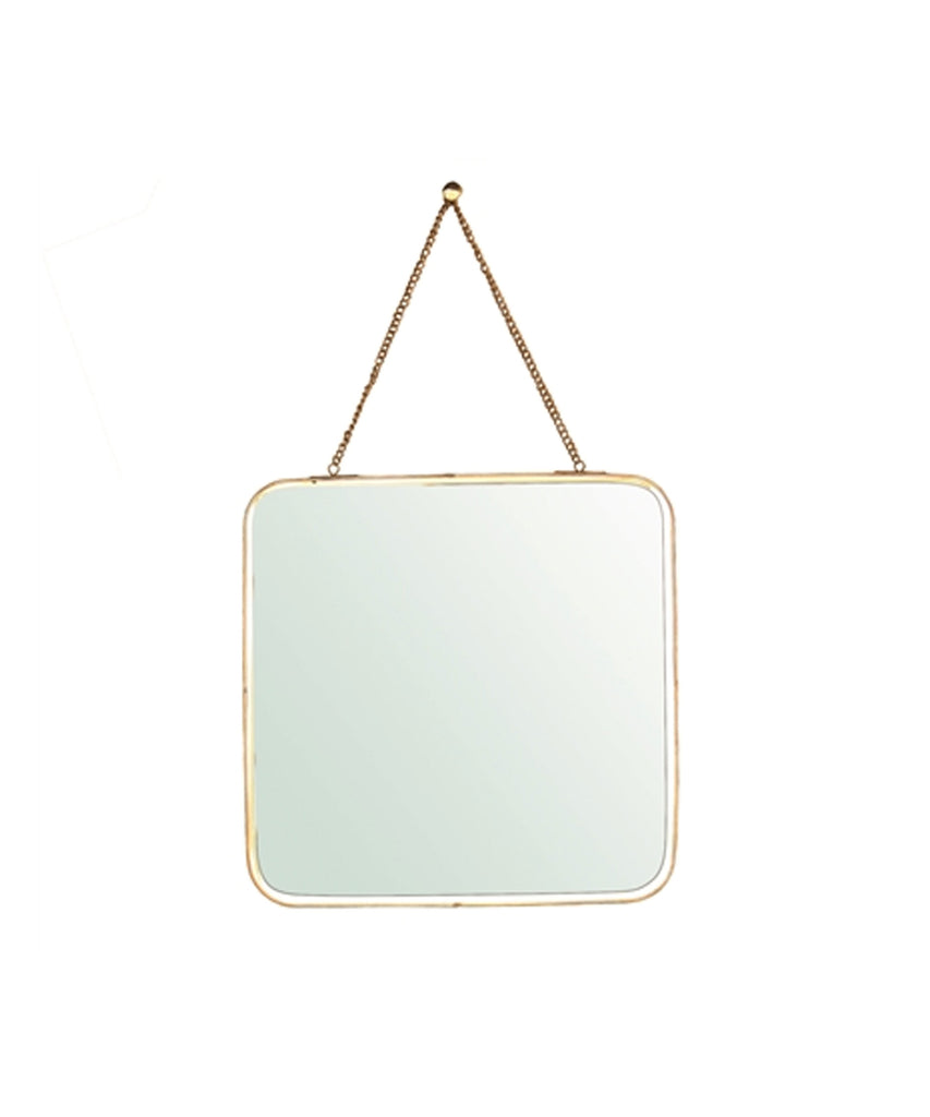 Small Brass Chelsea Mirror