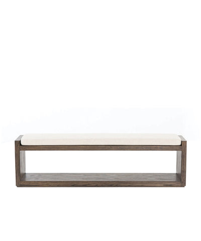 Edith Bench, Warm Cedar