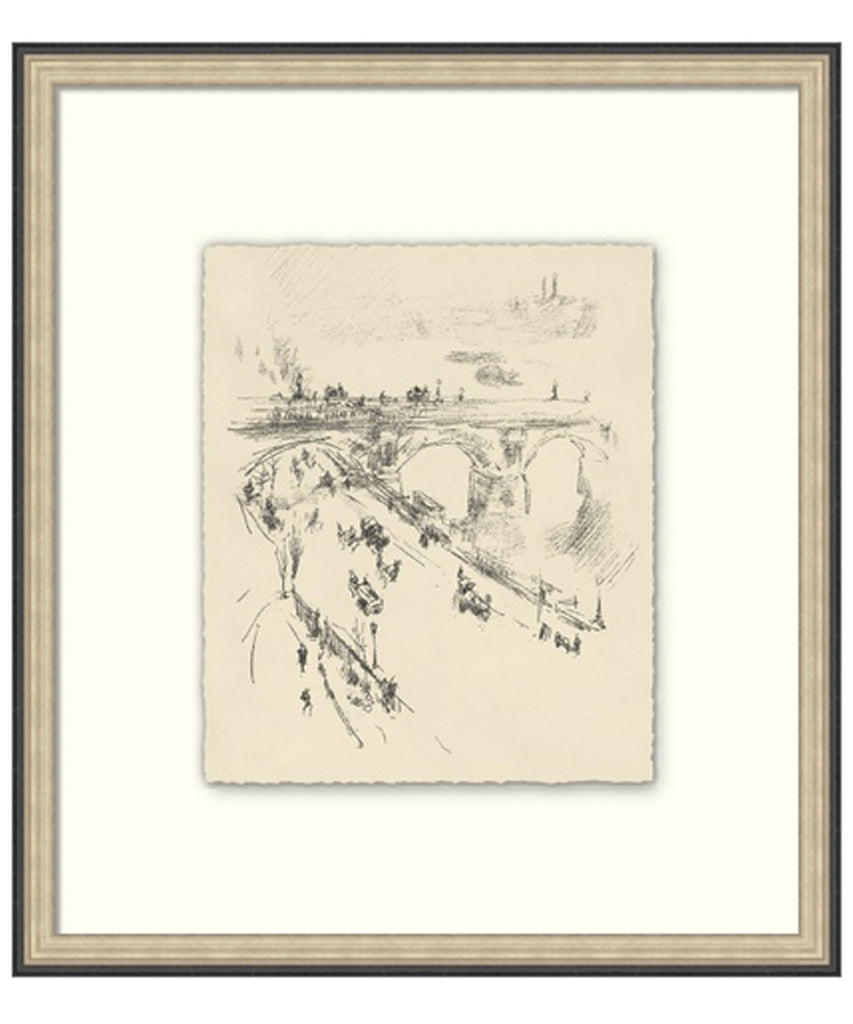 The Bridge Etching Sketch