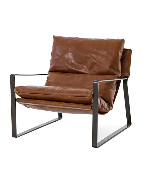 Everett Sling Leather Chair