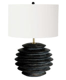 Ezra Table Lamp, Ebony