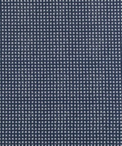 Cross Stitch Linen, Navy (fabric by the yard)