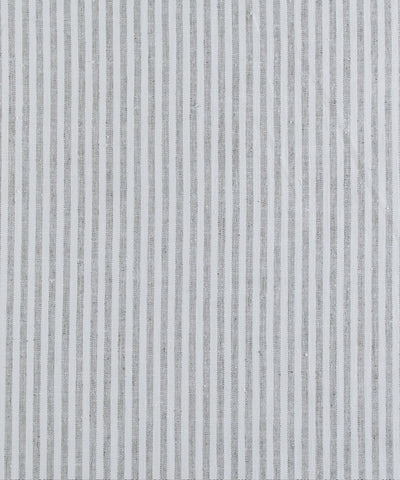 Linen Stripe, Putty (fabric by the yard)