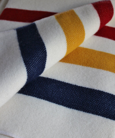 Revival Stripe Throw Blanket, Faribault Woolen Mill Co.