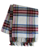 Royal Carefree Stewart Plaid Throw Blanket, Faribault Woolen Mill Co.