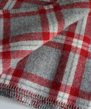 Soho Plaid Wool Throw Blanket, Faribault Woolen Mill Co.