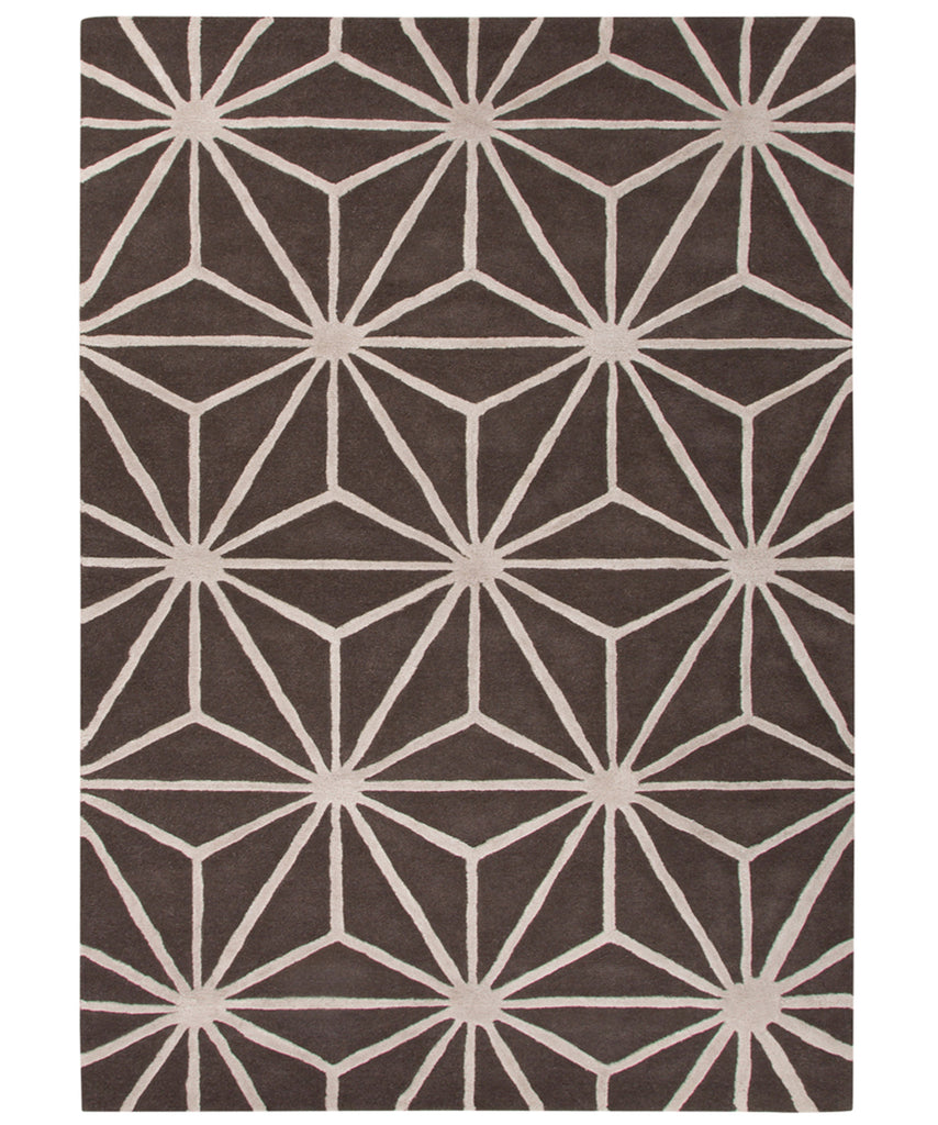 Arkley Rug, Chocolate