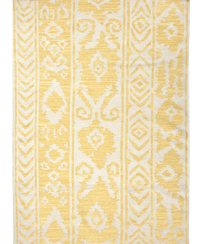 Bungalow Flat Weave Rug, Yellow
