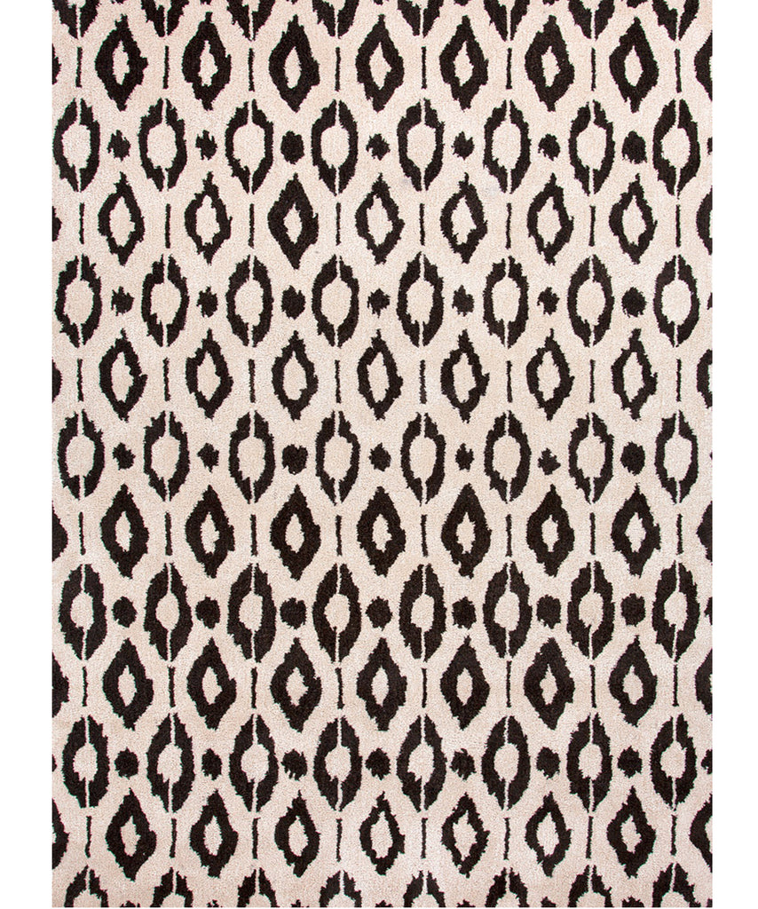 Ikat Dot Wool Rug