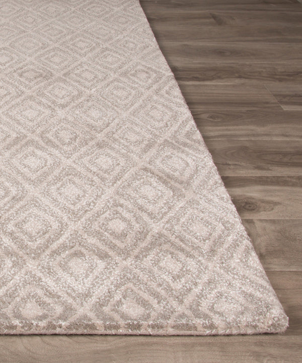 Nash Wool Rug, Gray