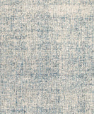 Oland Heathered Wool Rug, Denim