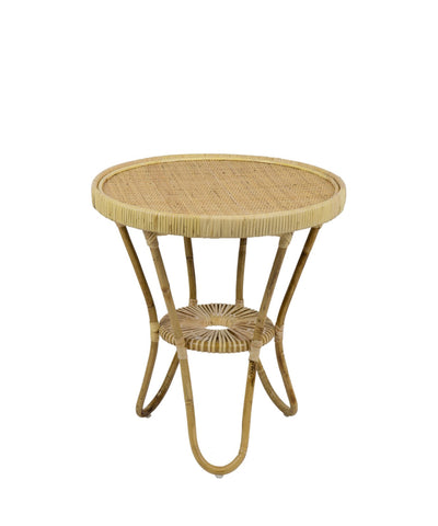 Lucy Woven Accent Table