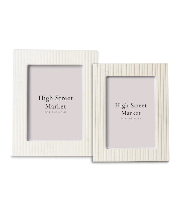 Fluted Marble Frame (2 sizes)