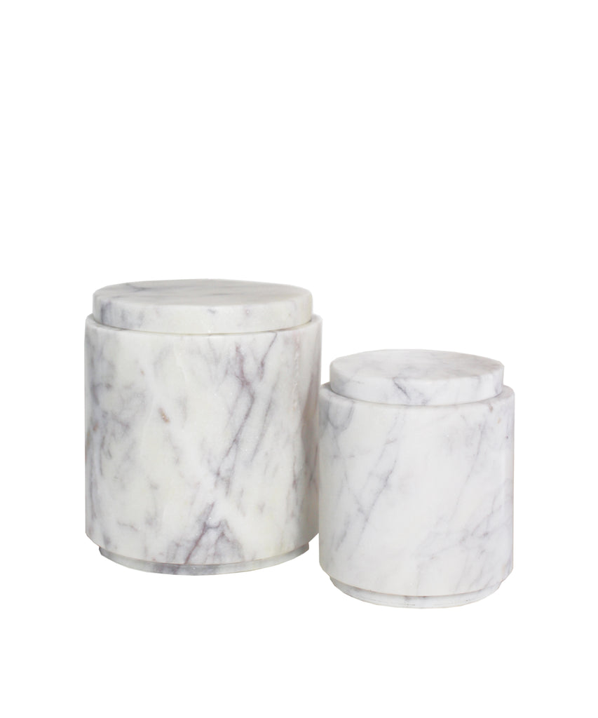 Marble Canisters (2 sizes)