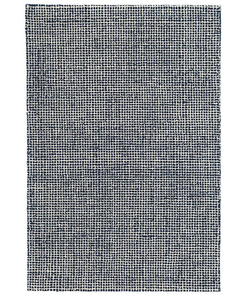 Matrix Wool Tufted Rug, Navy