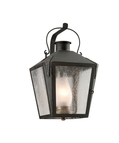 Merion Square Outdoor Lantern in Iron, Small