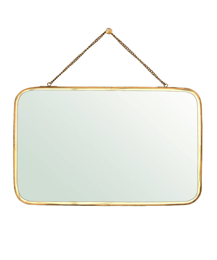 Large Brass Chelsea Mirror