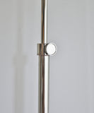 Koleman Adjustable Floor Lamp, Polished Nickel