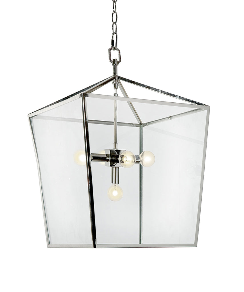 Camden Lantern, Polished Nickel
