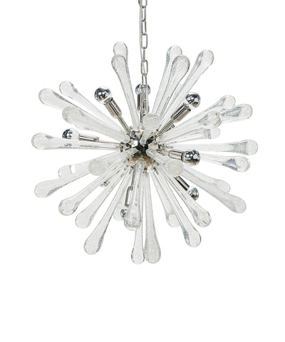 Satellite Chandelier, Clear Glass