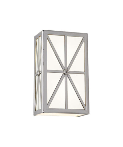 Directoire Sconce, Polished Nickel